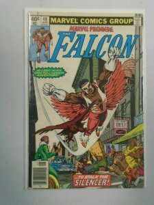 Marvel Premiere #49 The Falcon Newsstand edition 4.0 VG (1979)