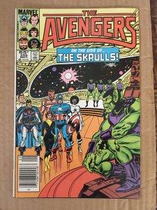 The Avengers #259