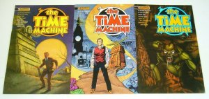H.G. Wells' the Time Machine #1-3 VF/NM complete series adapts the novel -comics