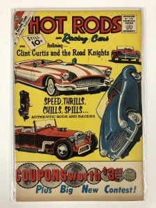 HOT RODS & RACING CARS (1951-1973 CHARLTON) 51 GOOD COMICS BOOK