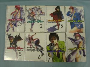 YS Comics Birdy The Mighty (鉄腕バーディー) Vol 1-8 Japanese Text