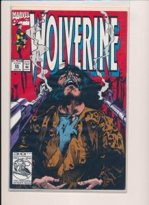 Marvel Comics WOLVERINE  #66  ~ VF 1992 (HX841) 1 Comics Bag/Boarded