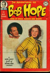 ADVENTURES OF BOB HOPE #2-PHOTO CVR-1950-DC VG
