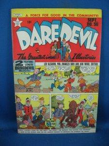 DAREDEVIL COMICS 56 F 1949