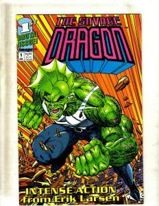 Lot of 12 The Savage Dragon Image Comic Books #1 2 3 #1 2 3 4 5 6 7 8 9 EK5