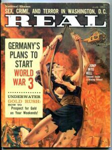 Real Magazine August 1962- World War 3- Louise Lawson-