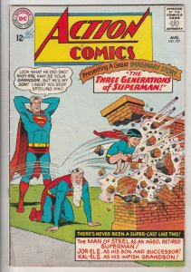 Action Comics #327 (Aug-65) FN/VF Mid-High-Grade Superman