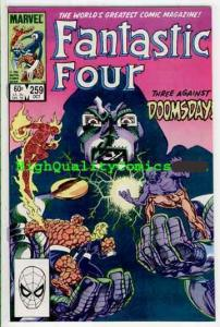 FANTASTIC FOUR #259, VF/NM, John Bryne, '83, Thing, Dr Doom, more FF in store