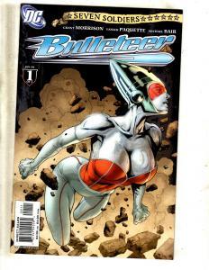 9 DC Comics Bulleteer 1 2 3 4 + Frankenstein 1 2 3 4 + Soldiers Of Victory 1 CJ3
