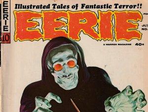Eerie(Harris) # 10  Goodwin, Ditko, Orlando, Adkins, Colan, and Neal Adams !!