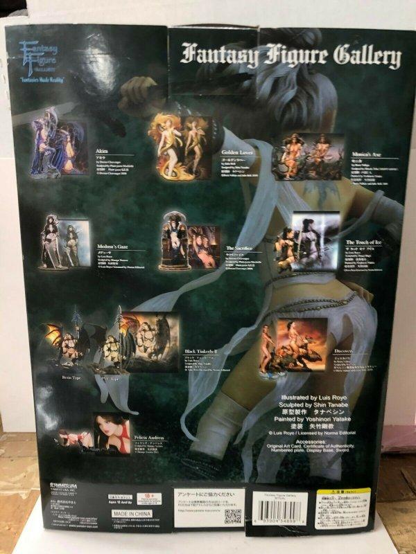 RITUAL by Luis Royo! Yamamoto USA! Fantasy Figure Gallery Shin Tanabe sculptor
