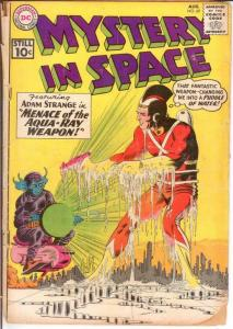 MYSTERY IN SPACE 69 PR  August 1961 COMICS BOOK
