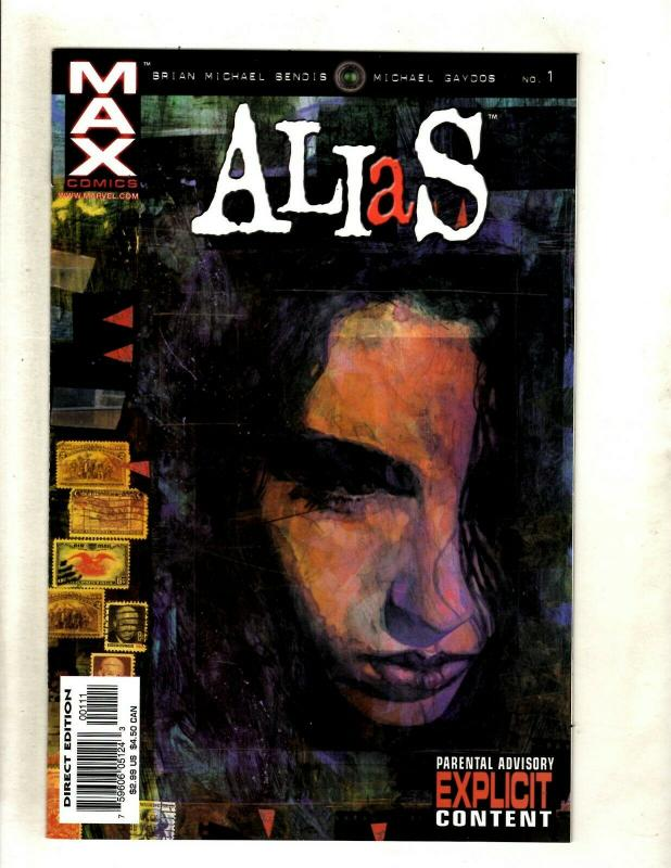 Alias # 1 NM Marvel Comic Book 1st Appearance KEY Brian Bendis TV Show HY1