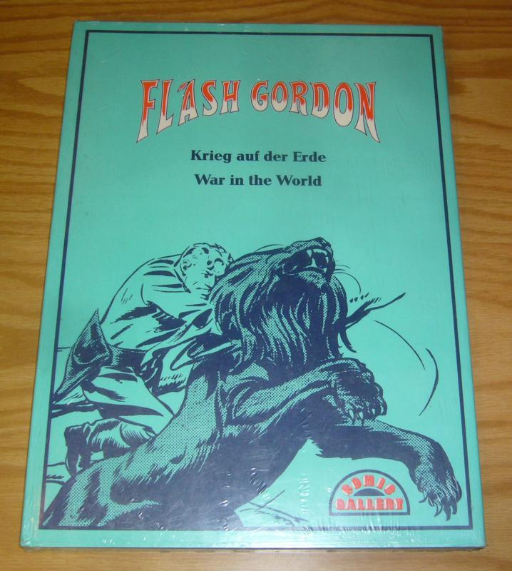 Flash Gordon: War in the World HC NEW - SEALED hardcover - comic gallery german?
