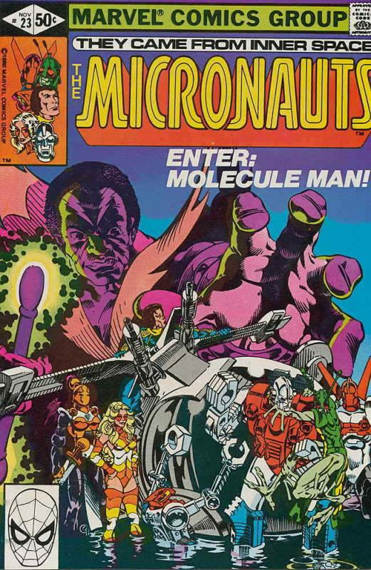 Micronauts (Vol. 1) #23 FN; Marvel | save on shipping - details inside