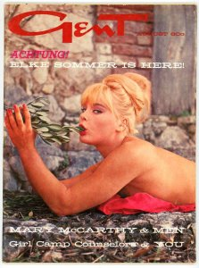 Gent Magazine  August 1964  Actress Elke Sommer  Girl Camp Counselors