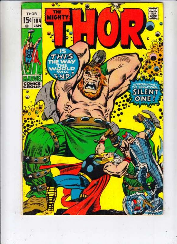 Thor, the Mighty #184 (Jan-71) FN/VF+ Mid-High-Grade Thor