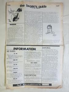 BUYERS GUIDE #4 Mark Evanier article June 1971