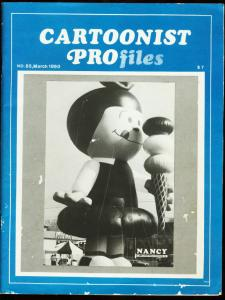 CARTOONIST PROFILES #85-1990-SYDICATED CARTOONISTS VG