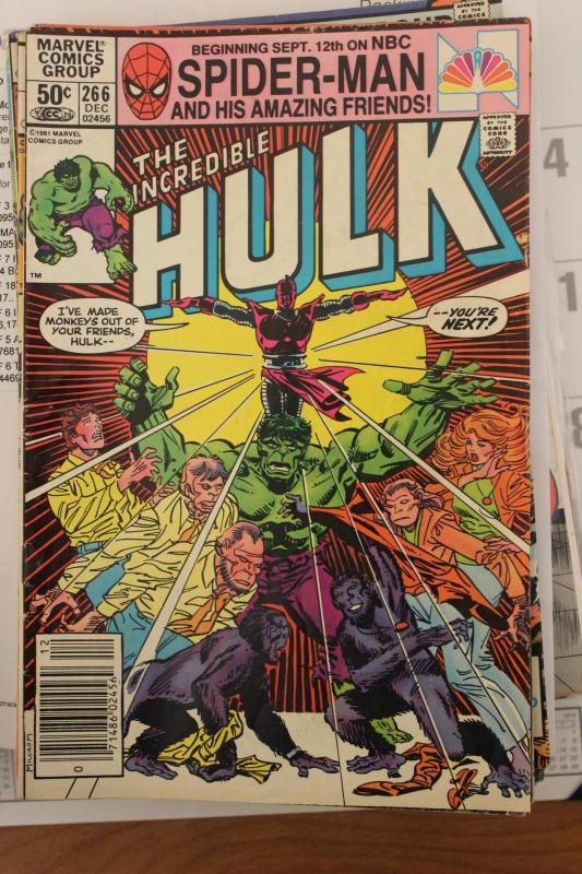 Incredible Hulk 266  VG/FN