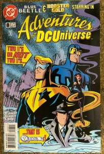ADVENTURES IN THE DC UNIVERSE #8 (DC,11/1997) VERY FINE (VF)  Booster Gold!