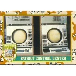 1991 Topps Desert Storm PATRIOT CONTROL CENTER #66