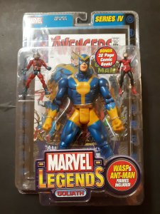 Marvel Legends Series V Goliath Figure w/Wasp Giant Man - Toy Biz - Sealed MOC