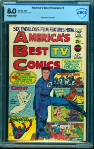America's Best TV Comics #1 CBCS VF 8.0 Off White to White