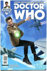 DOCTOR WHO #7 B, NM, 11th, Tardis, 2014, Titan, 1st, more DW in store, Sci-fi