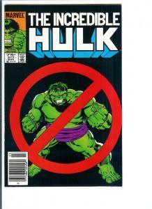 Incredible Hulk #317 - Bronze Age - March, 1986 (VF/NM)