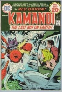 Kamandi 22 Oct 1974 FI-VF (7.0)