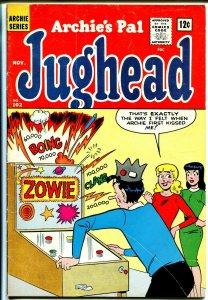 Archie's Pal Jughead #102 1963-MLJ-Betty-Veronica-pin ball machine cover-VG