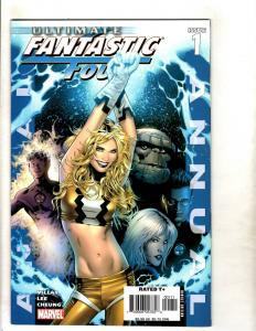 5 Ultimate Fantastic Four Marvel Comics ANNUAL # 1 2 Requiem 1 X-Men Annual CJ9