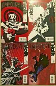 DAREDEVIL NOIR#1-4 NM LOT 2009 VARIANT EDITIONS MARVEL COMICS