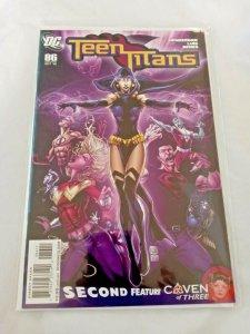 Teen Titans 86a Joe Prado Cover DC Comics Oct. 2010 NM