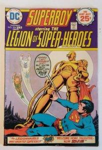 Superboy #206 (1975) The Legionnaires that Haunted Superboy, VF- 7.5