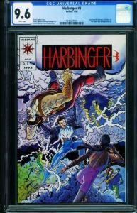 Harbinger #0-CGC 9.6 First issue-Valiant comic book - 1248237001