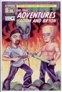 TRUE ADVENTURES OF ADAM & BRYON #1, NM, Aliens, Farts, more indies in store