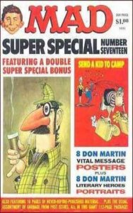 Mad Special #17, VF- (Stock photo)