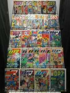 DP 7 1-32,ANN 1  the COMPLETE NEW UNIVERSE series! COMICS BOOK