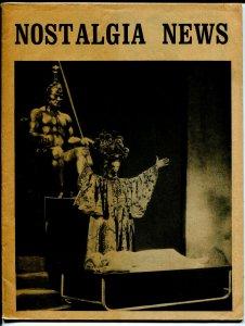 Nostalgia News #16 1972-Rogofsky-Caz-Terry Stroud, Robert Bell-Don Maris-FN