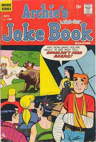 Archie's Joke Book Magazine #154, Fine- (Stock photo)