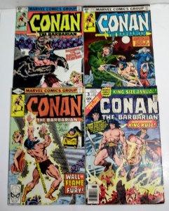 Conan The Barbarian Comic Lot of (4)