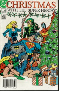 Christmas with the Super-Heroes - NM - John Bryne Cover