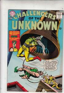 Challengers of the Unknown #46 (Nov-65) VF High-Grade Challengers of the Unkn...