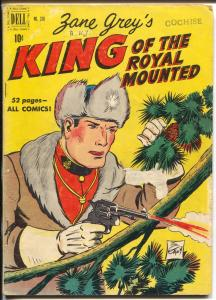 King of The Royal Mounted-Four Color Comics #310 1950-Dell-Zane Grey-RCMP-G