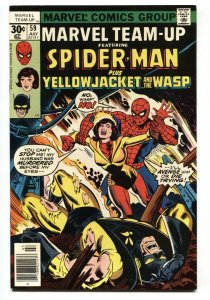 Marvel Team-up #59 Wasp-Spider-Man comic book NM-