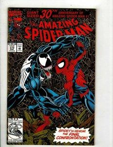 Amazing Spider-Man # 375 VF Marvel Comic Book Kingpin Vulture Green Goblin YY10