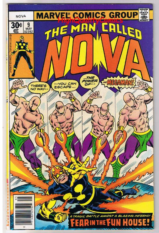 NOVA #9, VF/NM, Megaman, Buscema, Marv Wolfman, 1976, more in store