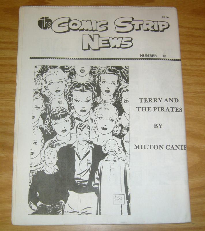 Comic Strip News #18 VF/NM; Quality Comic Art Productions | save on shipping - d